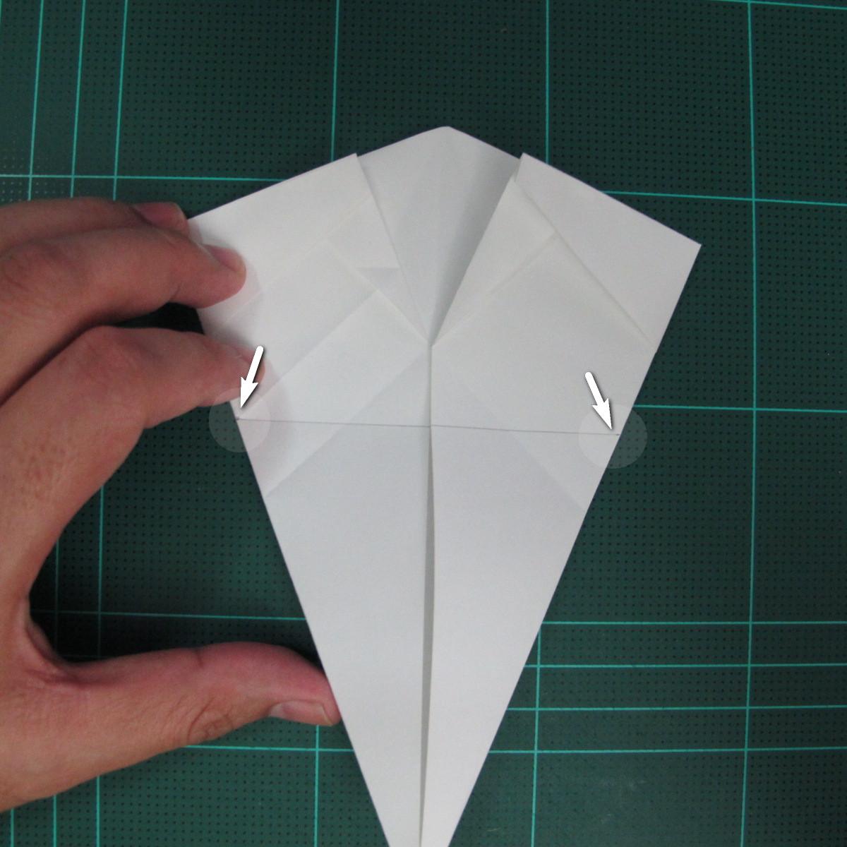 วิธีพับกระดาษเป็นรูปปลาแซลม่อน (Origami Salmon) 022