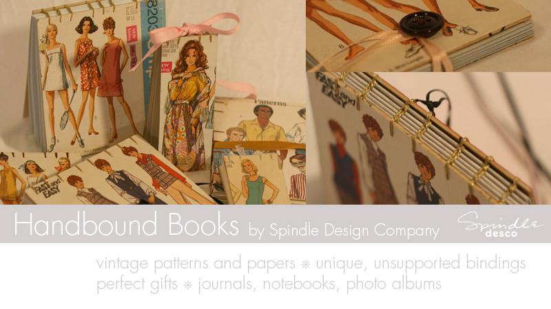 Handbound Books by Spindle Desco