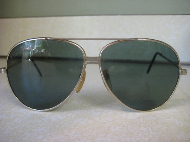 Vintage Sunglasses Aviator Cop Style