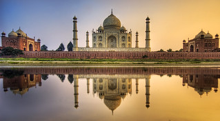 Farewell India - The Taj Mahal   by Trey Ratcliff