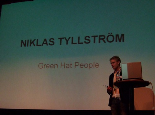 Hubbub: Niklas Tyllström, Green Hat People