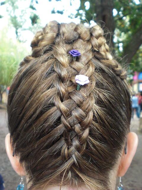 Customized Princess Braid