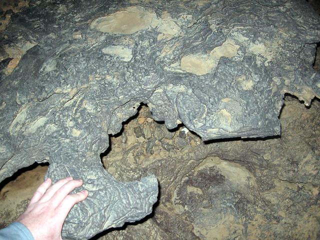 Chert Mass, John Henry Demps Cave, White Co, TN