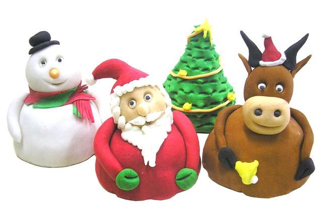 Christmas theme Muffins
