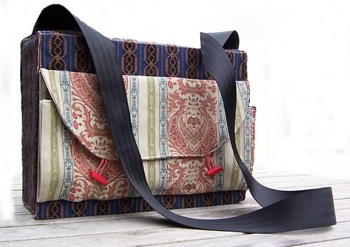Pandora Box Messenger Bag Number 2   by P8 Accessories & Button Art