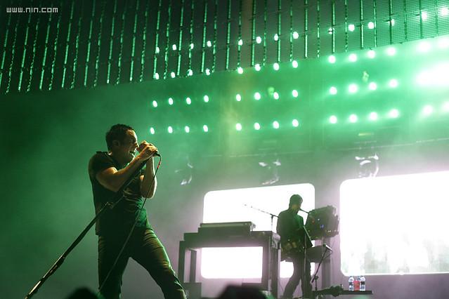 Nine Inch Nails Live @ Pemberton Festival - Pemberton, BC, 7.25.08