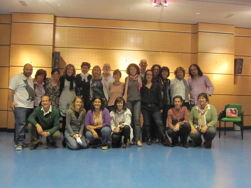 Foto de grupo con Katia