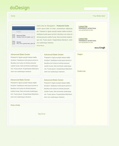 Code Green - Preview | Read more about this design here at ...