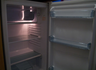 Empty fridge   by illustir