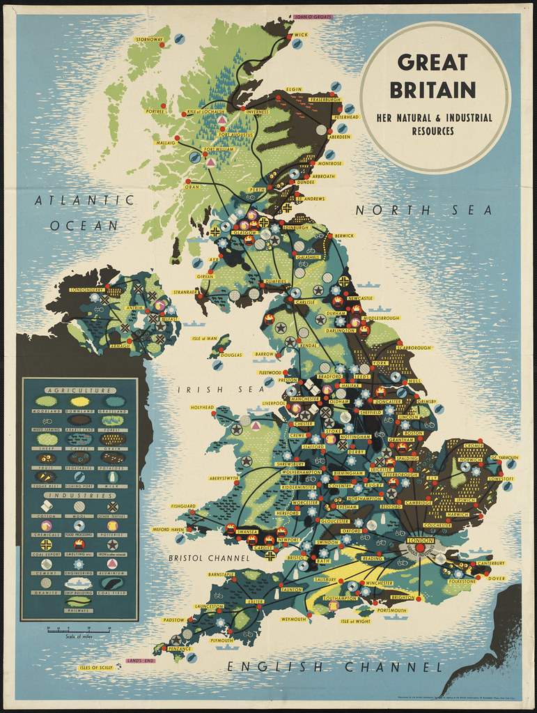 Great Britain. Her natural and industrial resources