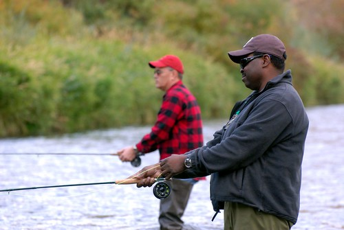Ozie and Jim fishing | by Scott Butner