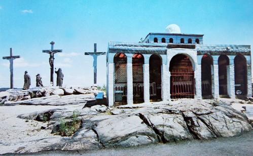 Holy Land U.S.A. - Replica of Calvary (Postcard) | by RoadTripMemories