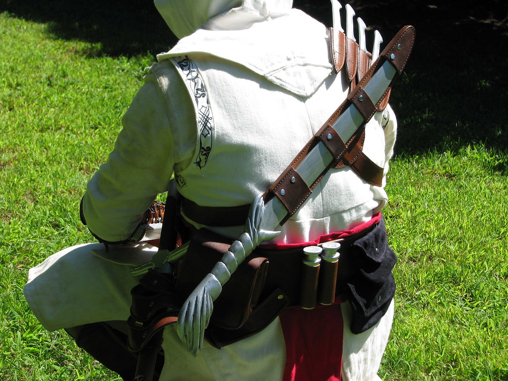 Assassin S Creed Costume Altair The Real Sam Fisher Flickr