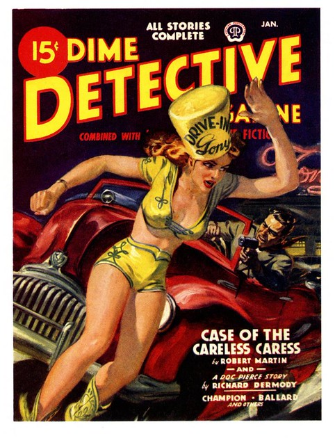 Dime Detective--only fifteen cents