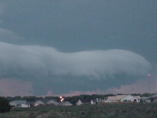 080705 - Thunderstorm Wall Cloud