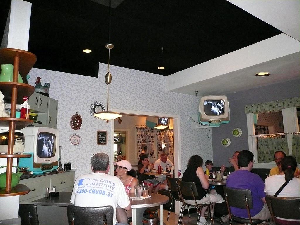 Restaurant Prime Time 50 S Cafe Disney Hollywood Studios