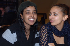 DSC_0136 Jasmine from Somalia and Paola from Ethiopia Sunday Lunch Shoreditch London