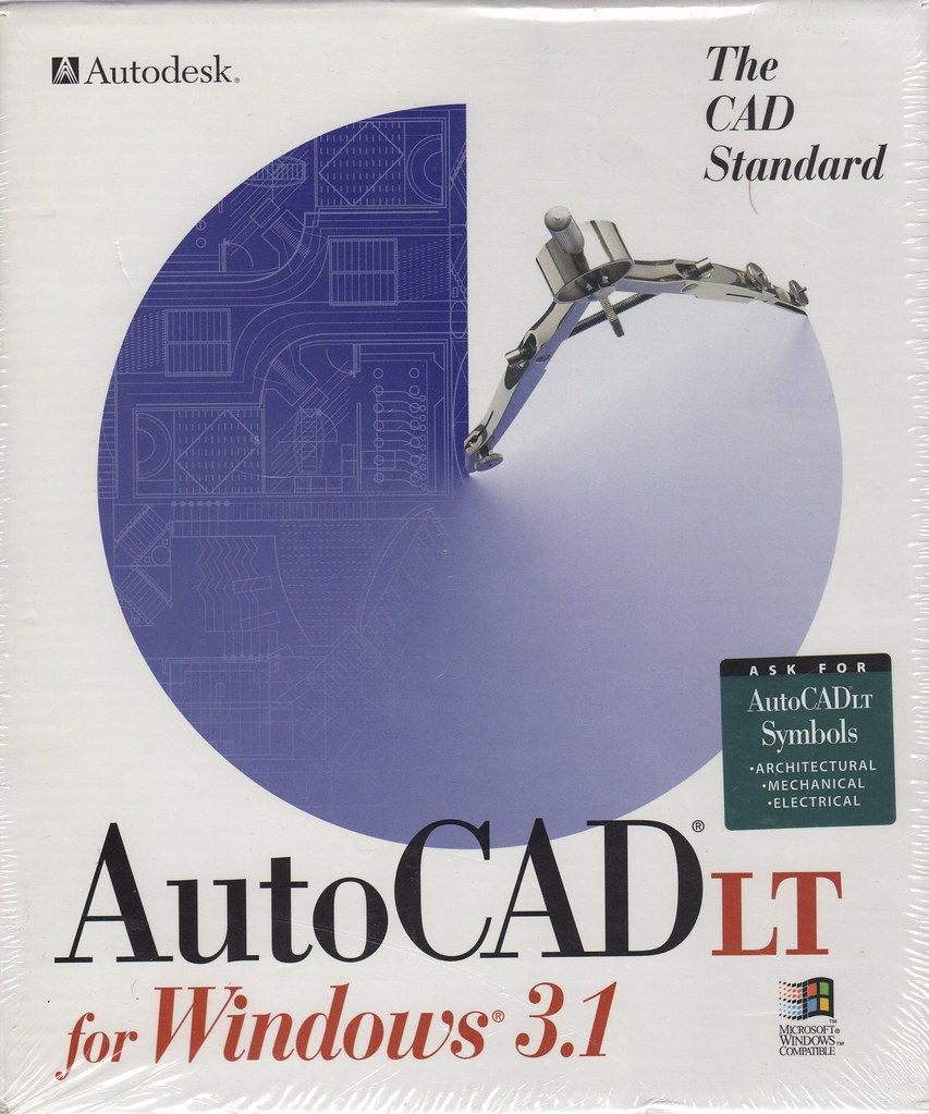 AutoCAD LT for Windows 3 1 | Shaan Hurley | Flickr