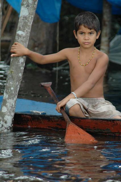 Amazonas boy, Brazil