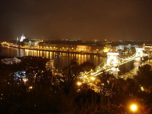 Budapest. Night view from Castle (Buda) | by a.kost