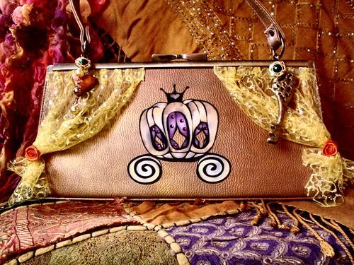 cinderella pumpkin carriage bag | by ambrayasmin