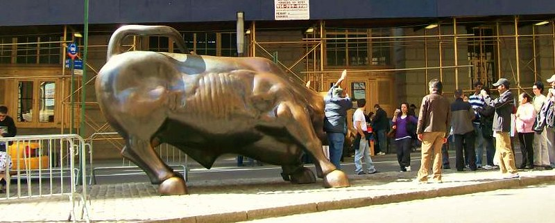 ... & they worshipped the golden calf
