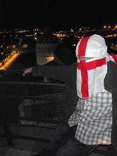 Lion burka-Top of the leaning tower of Pisa | by 4thlion