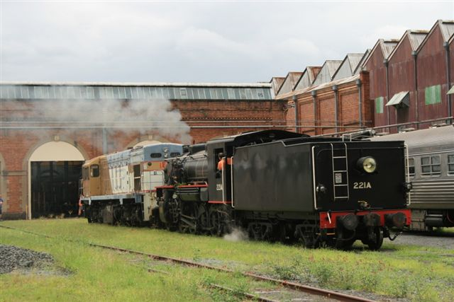 AC16 removing 1461 from Workshop Museum by qredge