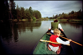 Canoe on Little Deschutes | by Whateverthing