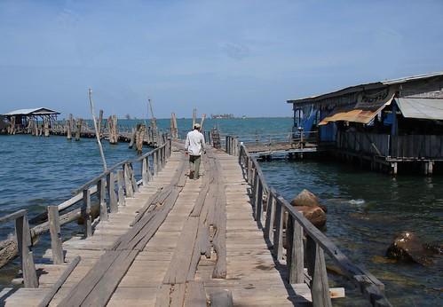 Fishing Village Dock Sihanoukville Cambodia | by Quiltsalad