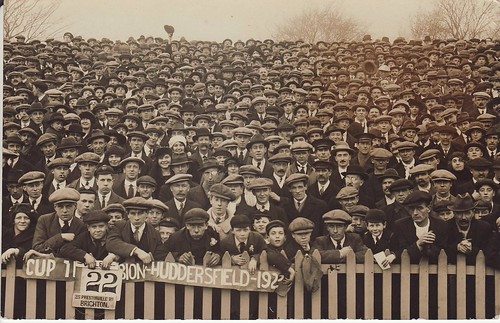 Brighton, 1922, crowd at stadium | by Frederic Humbert (www.rugby-pioneers.com)