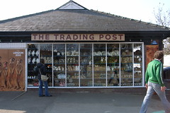 The Trading Post gift shop at London Zoo