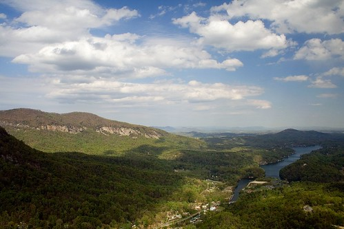 lake water northcarolina chimneyrockpark chimneyrock lakelure specland
