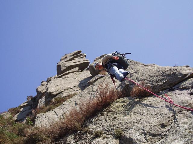 Kai climbing