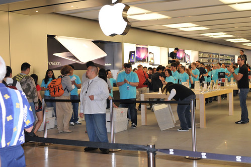Apple Store Opening | by Ianiv & Arieanna