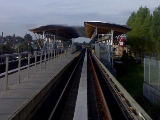 SkyTrain Approaching Rupert Station