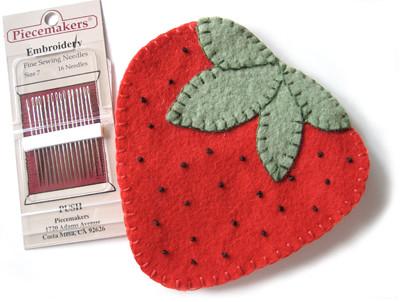 Strawberry Needlebook | by Happy Zombie