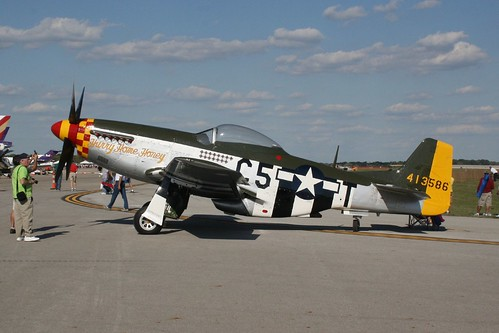 """North American P-51D """"Hurry Home Honey"""" 