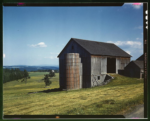Farmland in the Catskill country, in New York State  (LOC) | by The Library of Congress