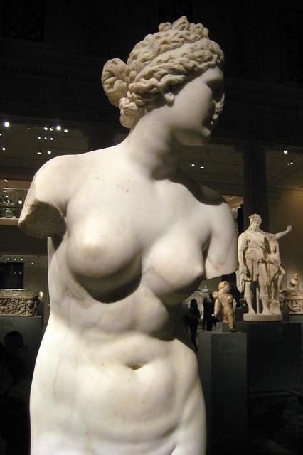 NYC - Metropolitan Museum of Art - Marble statue of Aphrodite