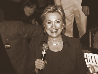 Hillary in Sepia | by Taekwonweirdo