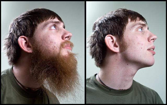 The Beard is Gone