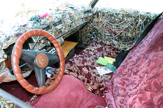 art car interior