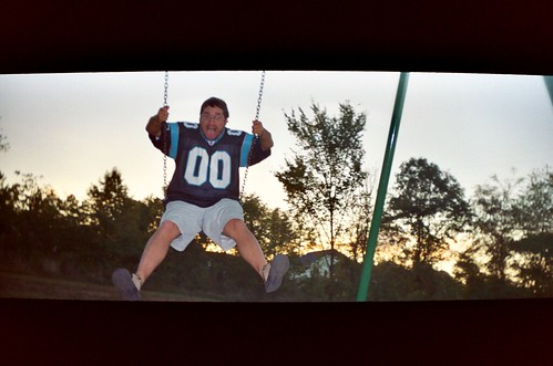 sunset film me 35mm outside kodak toycamera william carolina swinging 2007 400iso vivitarvistatele file:name=20071014vivitarvistatelea15adjustedpng fridayshoots