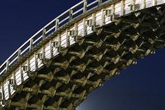 Detail of Kintai Bridge(Kintai-kyo Bridge) at night [錦帯橋 / 岩国] | by d'n'c