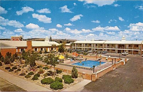 newmexico hotel route66 inn motel roadside gallup ramadainn ramada 1965 us66