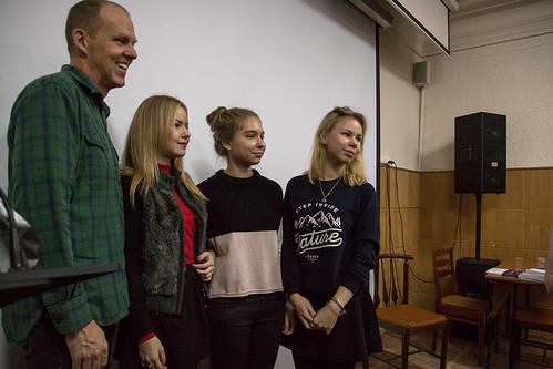 Ноя 10 2015 - 13:16 - Встреча с голливудским режиссером Брайаном Хелгеландом