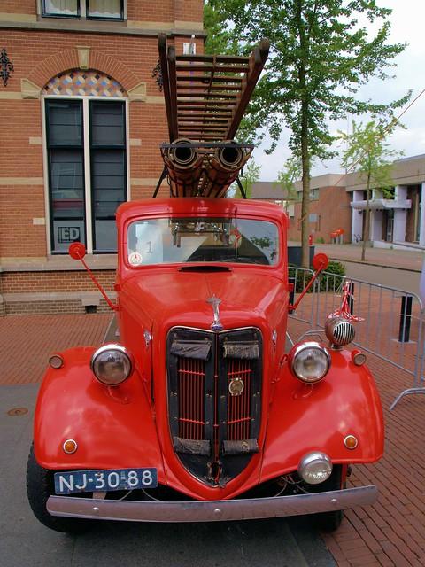 1936 Ford brandweerwagen Helmond