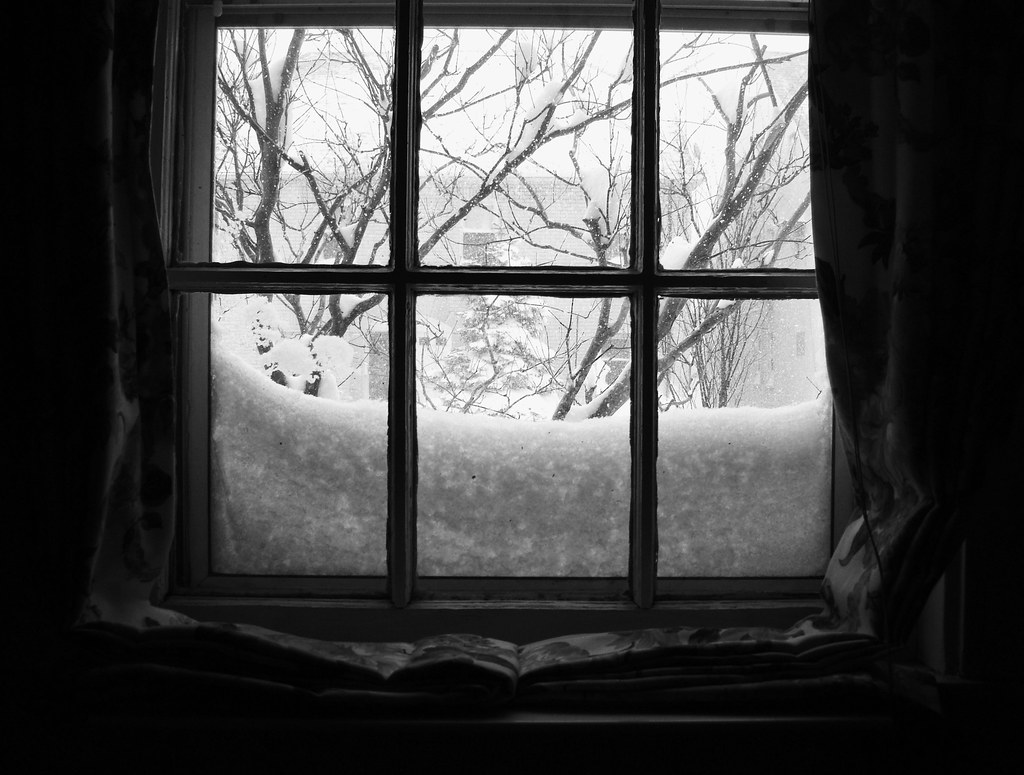 Snowy Window Panes - Astoria New York | astoria4u | Flickr