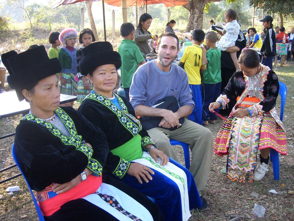 Farang & Hmong village 's Chiang Khong